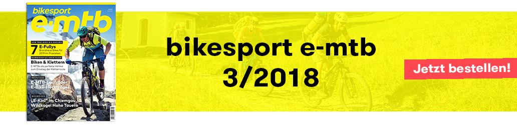 Banner, bikesport e-mtb 3/2019