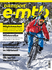 Cover, Magazin, bikesport e-mtb