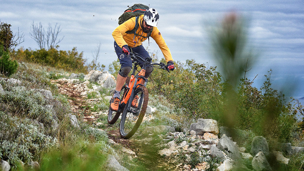 KTM Macina Chacana 293, Test, E-MTB, E-Tourenfully