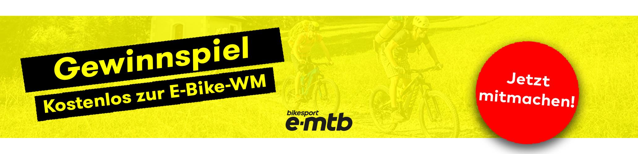 Gewinnspiel, E-Bike-WM