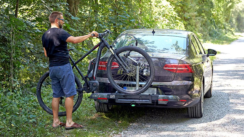 Fahrrad-Heckträger, Test