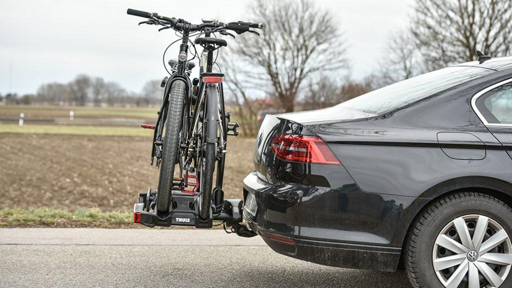 Thule EasyFold XT2, Fahrrad-Heckträger, Test, Kaufberatung