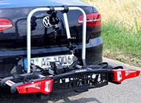 Uebler i21: Fahrrad-Heckträger im Test der bikesport e-mtb