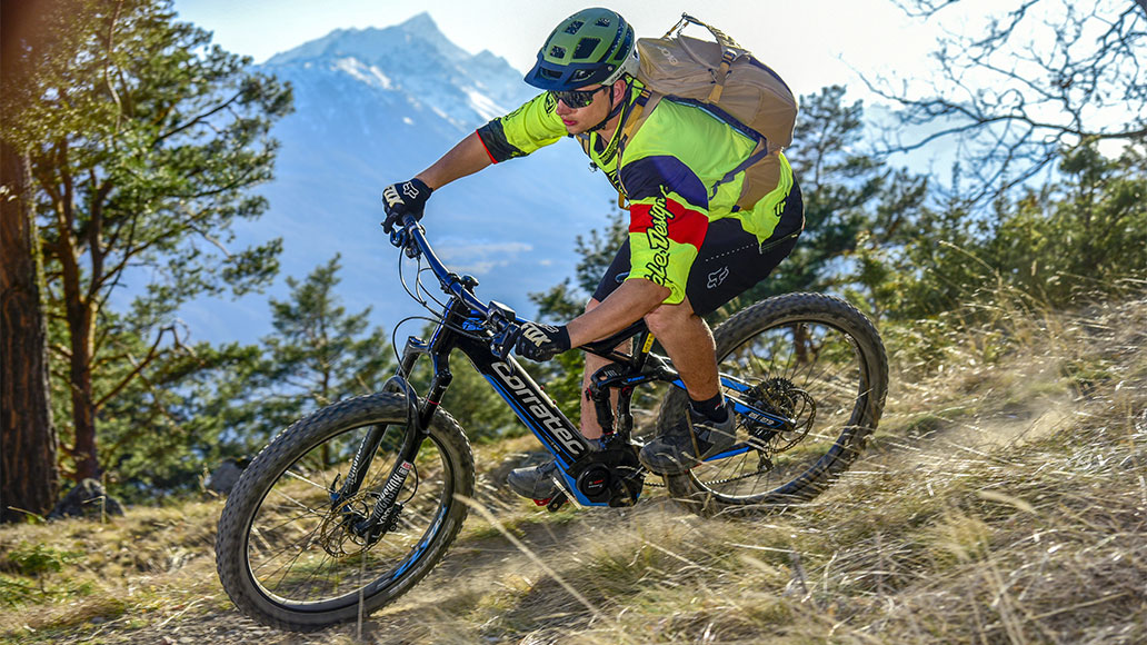 Corratec E-Power RS150 P. 650B+, Test, bikesport e-mtb, E-All-Mountains