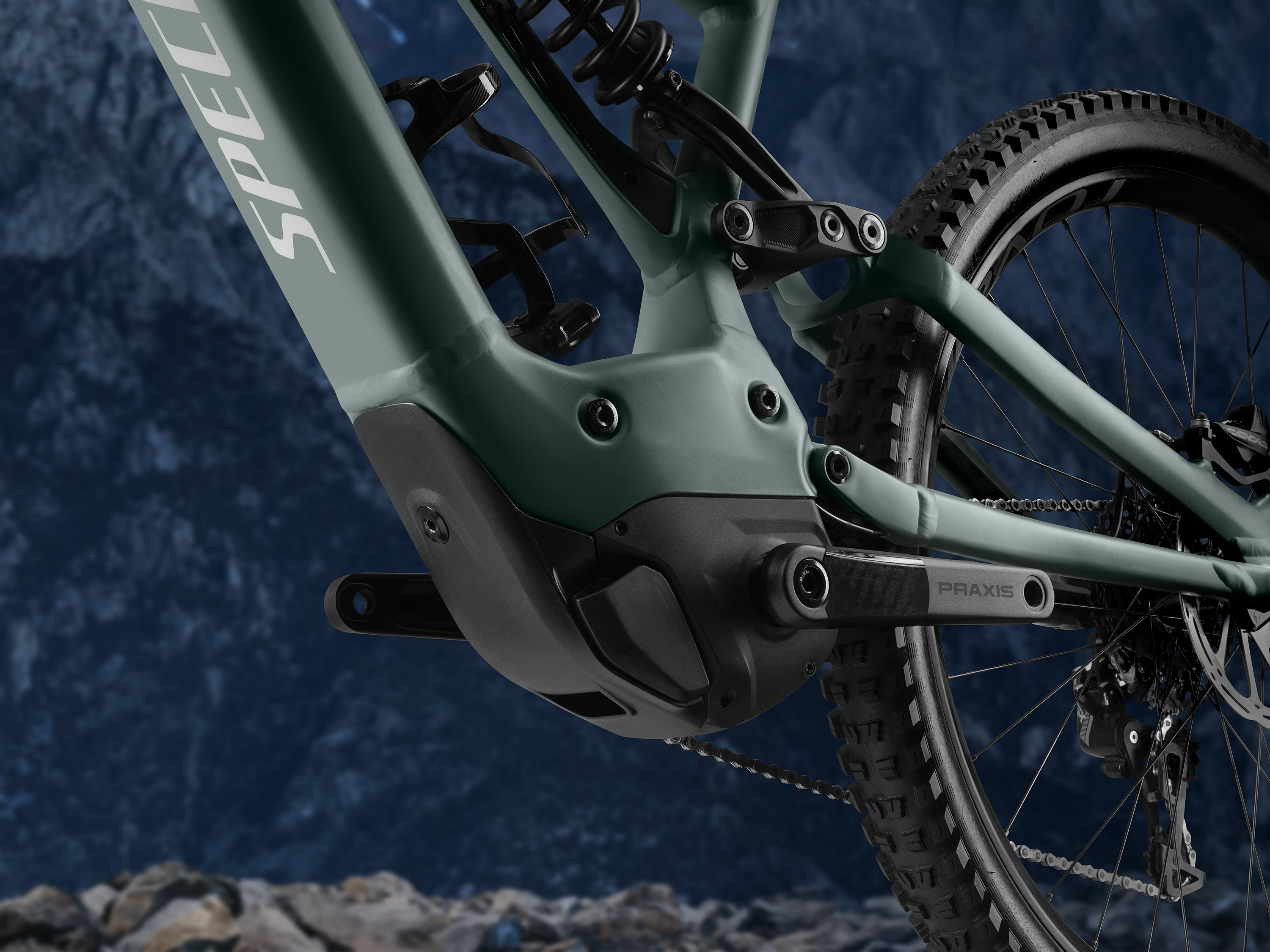 Specialized like - die Integration des Motors