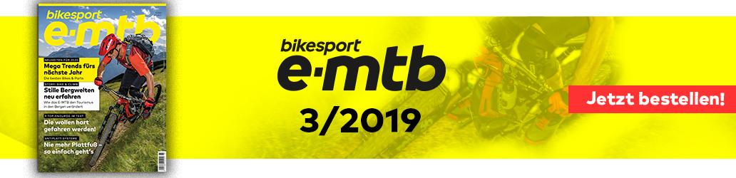 bikesport e-mtb 3/2019, Banner