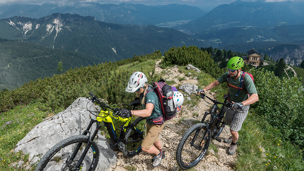 Bike & Climb, E-MTB, Approach Bikes, Reisereportage
