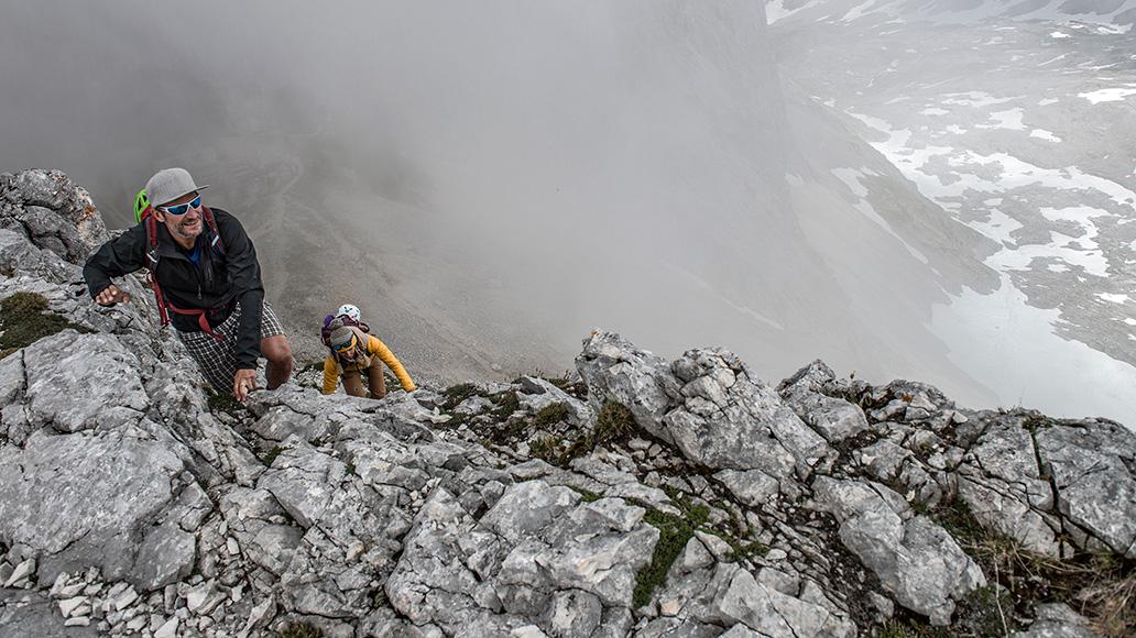 Bike & Climb, Wetterstein, Wettersteingebirge, E-MTB als Approach Bike