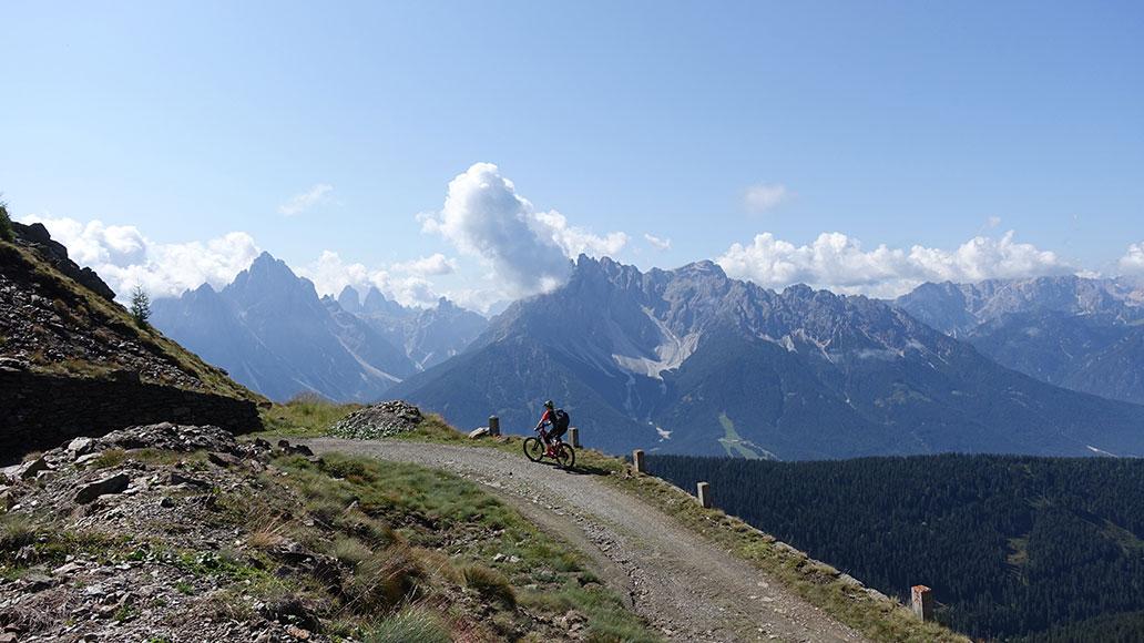 Dolomiten, Panorama, Aussicht