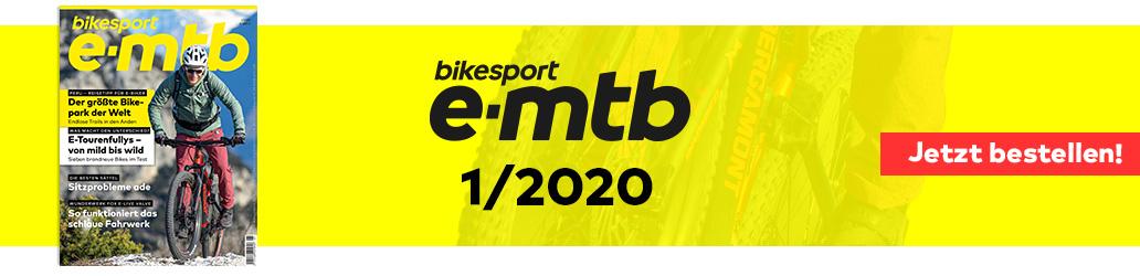 bikesport e-mtb 2020, Banner