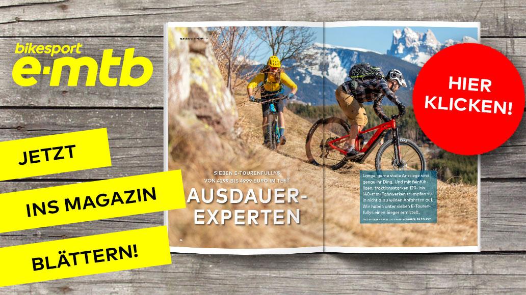 bikesport e-mtb 1/2020, Ins Magazin blättern