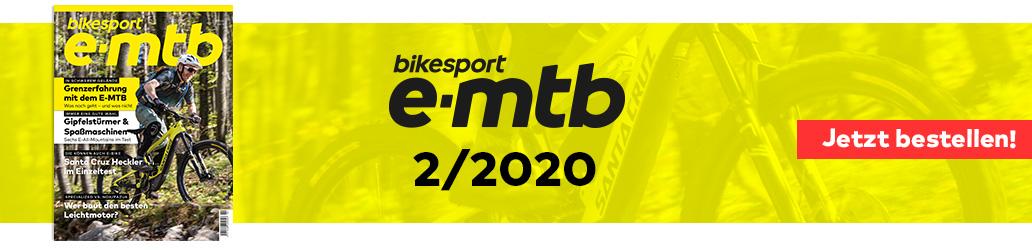bikesport e-mtb 2/2020, Banner