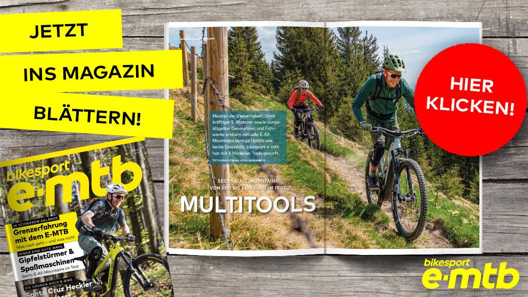 bikesport e-mtb 2/2020, Teaser