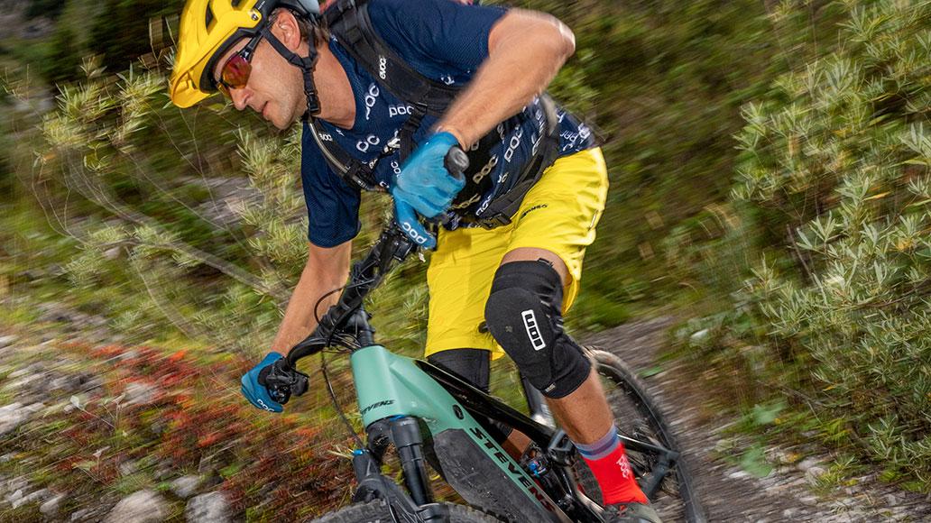 Test, E-Mountainbike, Action
